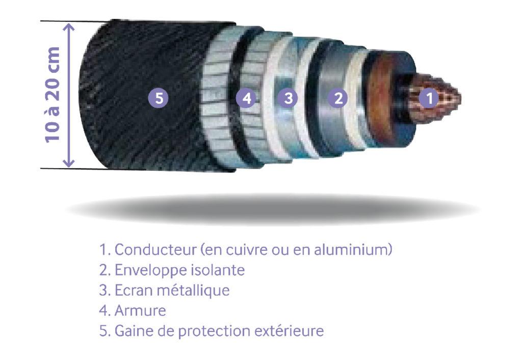 Coupe du câble sous-marin